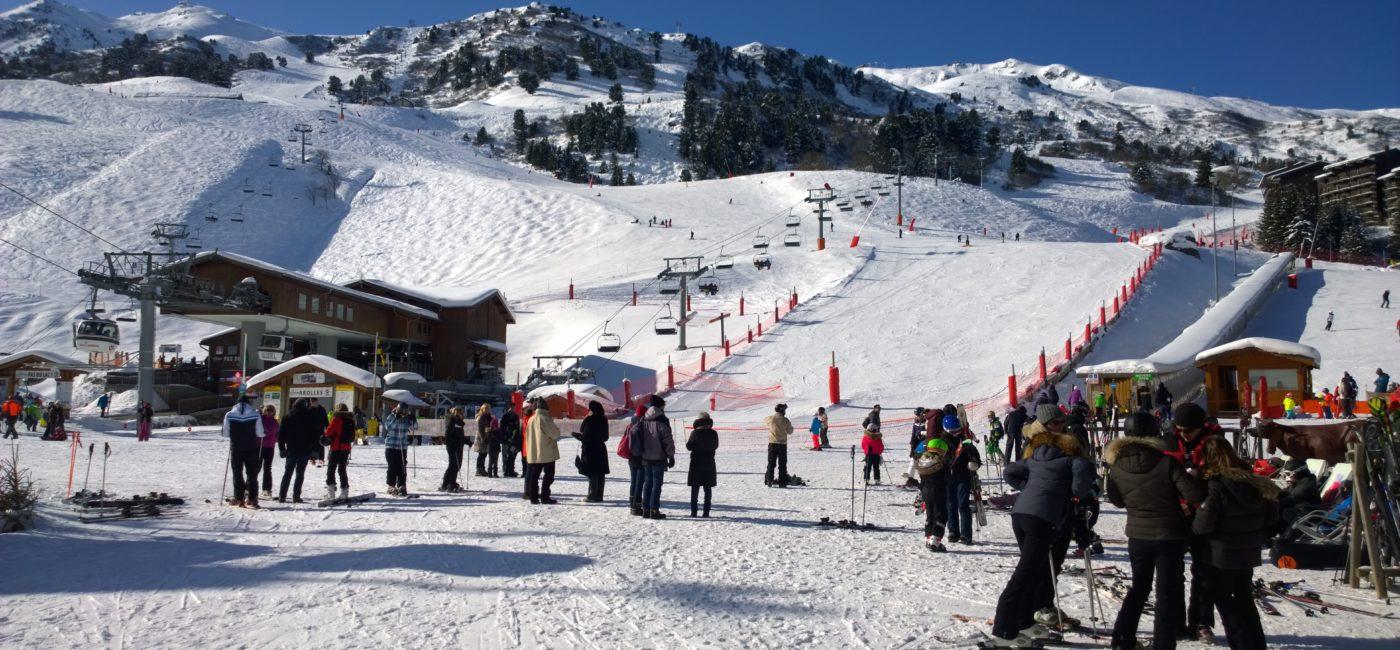 ski à Meribel