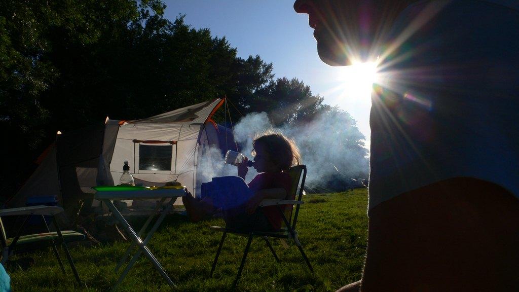 Camping avec enfant en septembre