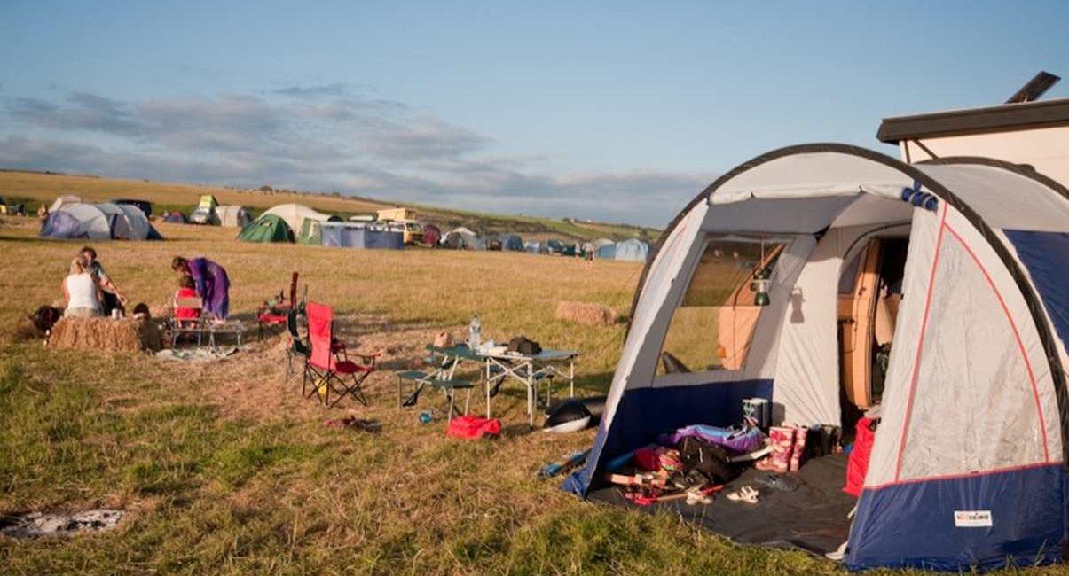 Un camping pour l'été